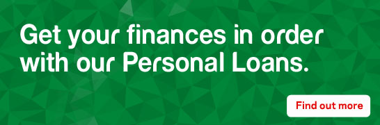 Get you finances in order with our Personal loans
