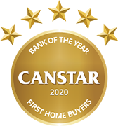 Bank of the Year - Canstar 2020 - First Home Buyers