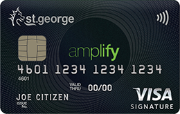 Amplify Signature credit card