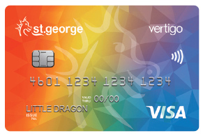 St.George Rainbow Vertigo credit card