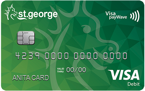 Visa Debit Card | St George Bank