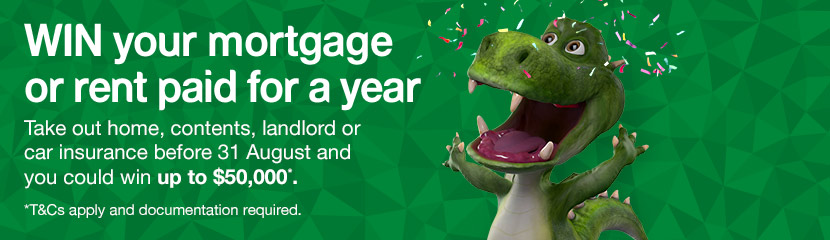 WIN your mortgage or rent paid for a year. Find out more.