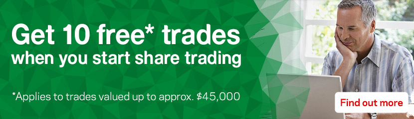Get 10 free trades when you start online trading