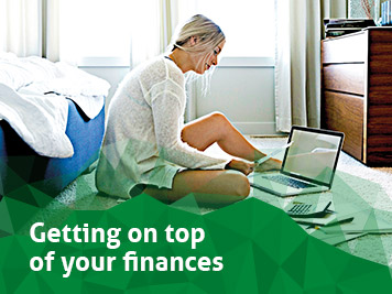 Getting on top of your finances