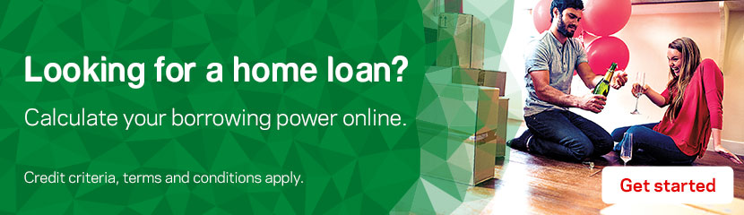 Looking for a home loan? Calculate your borrowing power online.