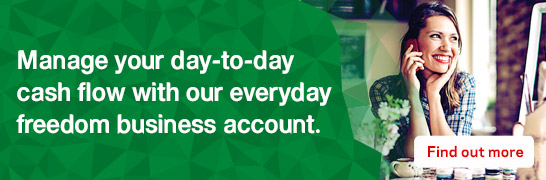 Manage your day-to-day cash flow with our everyday freedom business accounts.