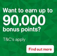 Earn up to ninety thousand bonus Amplify or Qantas points. New cards only. Min spend and conditions apply. Offer ends 20 September 2017.
