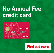No Annual Fee credit card. Conditions apply. Find out more