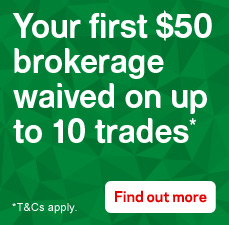 Your first $50 brokerage waived on up to 10 trades. Find out more.
