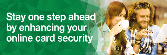 Stay one step ahead by enhancing your online card security.