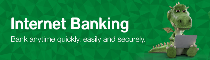 Internet Banking - Bank anytime quickly, easily and securely.