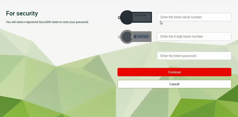 Help on Business Banking Online - Password Reset | St George