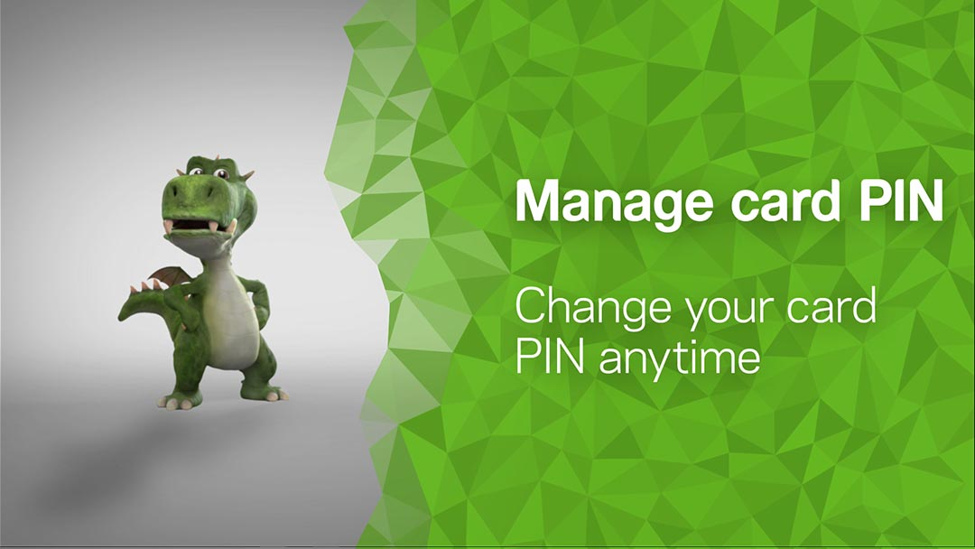 Manage your PIN